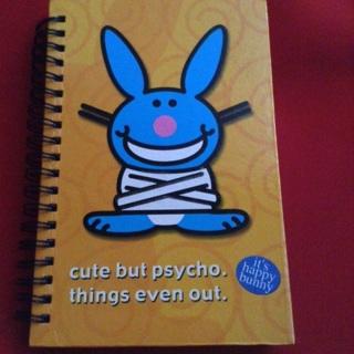 Happy Bunny Notepad