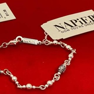 Napier Bracelet marked tagged Antiqued Silver NWT