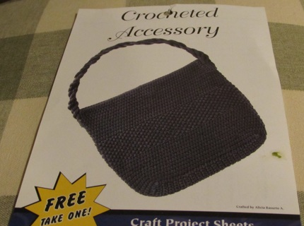 Free Crochet Pattern Sheet From Hobby Lobby Crochet Listiacom