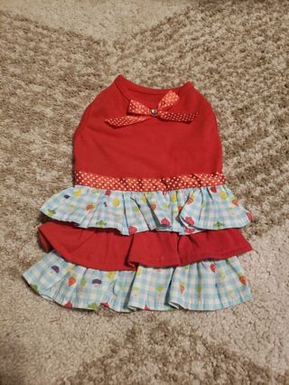 Zack & Zoe Xsmall Puppy Dress