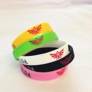 1 LEGEND OF ZELDA Video Game Theme wristband bracelet NINTENDO HOT TOPIC punk emo goth