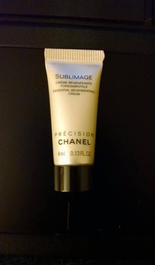 Precision Chanel Sublimage Essential Regenerating Cream Sample