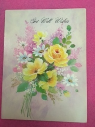 Vintage Get Well Wishes