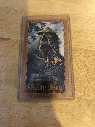 Swamp Thing Card #1 from DC Comics Vertigo 1994