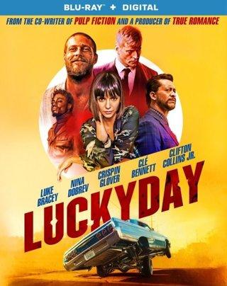 4K  Lucky Day   UHD Digital Copy Code Vudu or iTunes