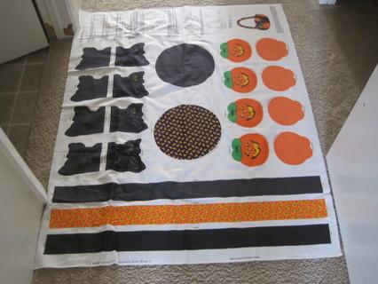 Halloween kit fabric