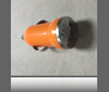 phone and tablet USB car charger-Orange