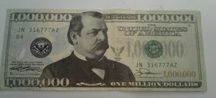 Free Collector Bill Grover Cleveland 1 Mil Other