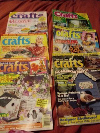 6 Craft Magazines/ Books