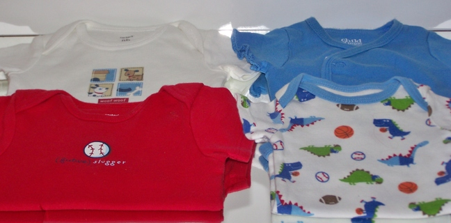 425294375 Free: Carters & Child Of Mine Newborn Baby Boy Clothes Free Shipping ...