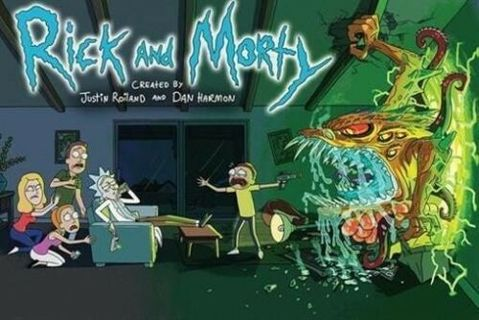 "**~ New Rick and Morty Poster ~** 24"" by 36"""