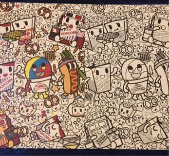Kawaii Tokidoki post cards