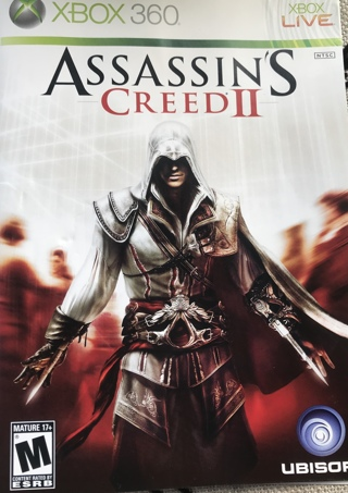 ASSASSINS CREED 2 ⭐️XBOX 360⭐️