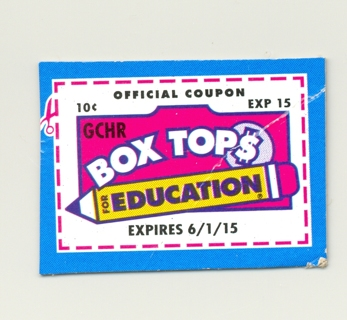 BOX TOPS FOR EDUCATION #4