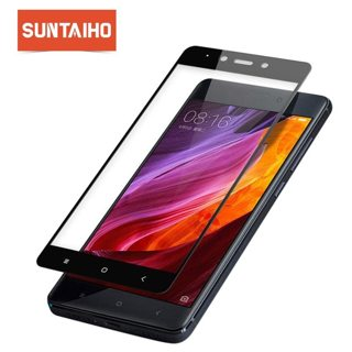 Tempered Glass For Xiaomi RedMi 4 4X 4A 4Pro Screen Protector,Suntaiho 2.5D Full Tempered Glass Film
