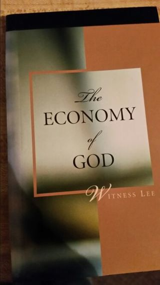 The Economy of God Book