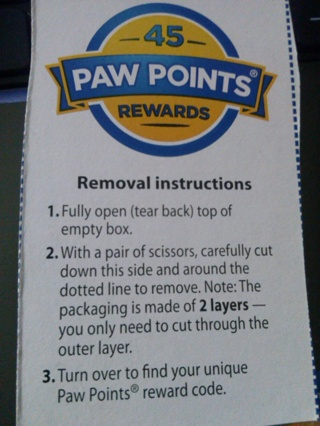 45 Paw Points