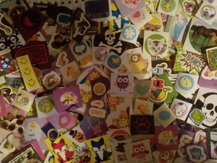 125 mixed Stickers