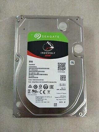 Seagate barracuda 8tb hard drive new