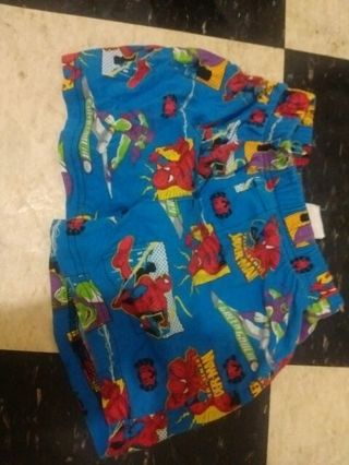 Boys Marvel underwear (Unused)
