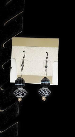 New Set Of Glass Bead Dangle Earrings