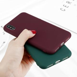 Slim Soft TPU Silicone Rubber Phone Case Cover For iPhone X 8 5 SE 6 6s 7 Plus