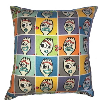 Forky Toy Story 4 Travel / Accent Size Pillow