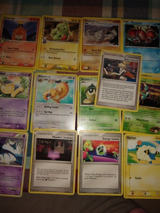 Lot #5 of 12 newer / vintage Pokemon trading cards get whats in the picture! 1995-2007