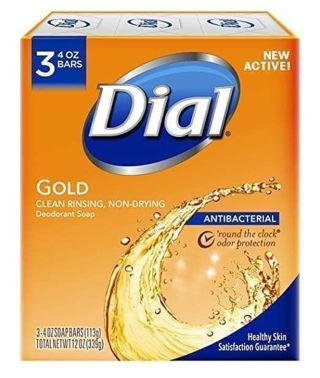 ⭐ DIAL GOLD ANTIBACTERIAL 3 PACK BAR SOAP ⭐