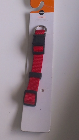 Small Red Dog Collar
