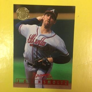 1995 Fleer Ultra Gold Medallion Edition HOF #133 P John Smoltz - Braves
