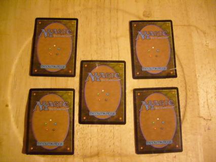 5 MTG cards #2