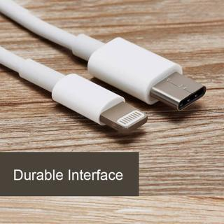 USB 3.1 Type C USB-C to Lightning Sync Cable Charger for iPhone 5 6 6s 7 Plus 8