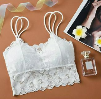 Women Bralette Knit Lace Strap Sexy-Lingerie Wrapped Chest Top Underwear New
