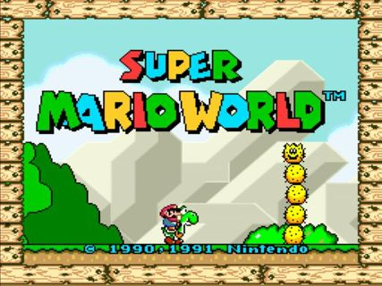Super mario world (v1. 0) rom super nintendo (snes)   emulator. Games.