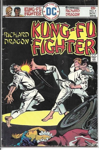 Kung-Fu Fighter #4 DC Comics