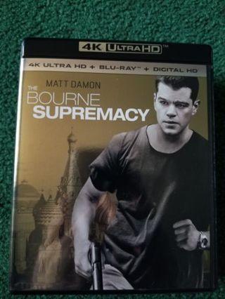 Bourne supremacy uv