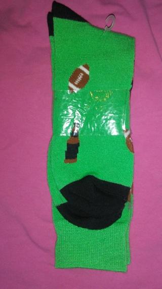 Knee-hi beer/football green socks-☝☝☝☝☝☝☝☝☝☝☝☺☺☺☺☺☺☺☺☺☺
