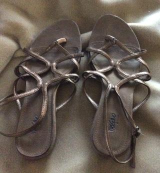 Copper sandals Size 8