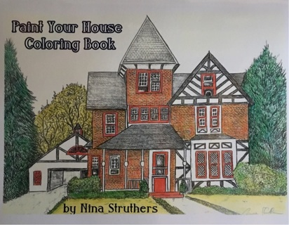 PAINT YOUR HOUSE COLORING BOOK BY NINA STRUTHERS