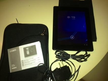 Like new 4G COBY Tablet