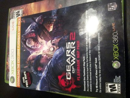 Gears of War 2 DLC and 48 hour Xbox Gold code