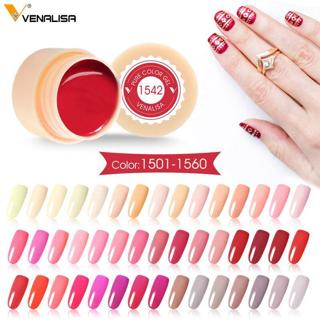 Venalisa Painting Gel 5ml CANNI Nude Red Hot Nail Art High Quality Salon Manicure 180 Color UV LED