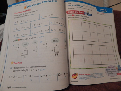 School Work pages--Grade level ~ about 3rd to 4th grade level.