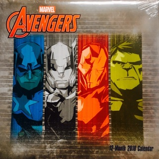 Marvel Avengers 2018 Calendar & Spider-Man JUMBO Activity Book & The Spectacular Spider-Man #169