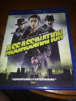 Assassination blue ray movie