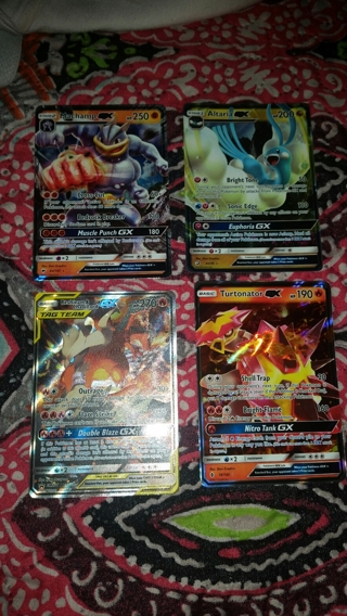 4 Ultra Rare Pokemon Cards