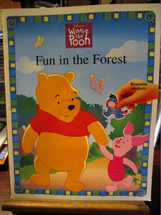 Winnie The Pooh Storytelling Book with Reusable Stickers