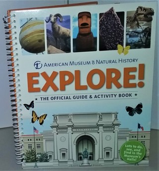 "2012 ""EXPLORE"" AMNH - hardcover 67 pages - 8"" x 10"" spiral-bound"