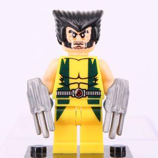 Free: New Wolverine Marvel Minifigure Building Toys Custom Lego